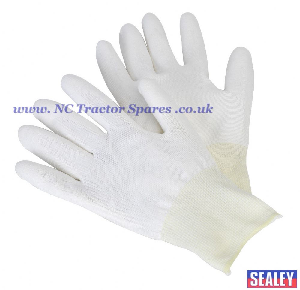 PU Coated Nylon Knitted Gloves - Pair